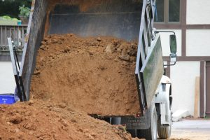 construction services hauling and moving dirt